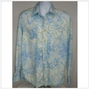 Tommy Bahama Denim Men's Large Shirt